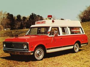 1972 Chevrolet C10 Suburban High Top Ambulance by Yankee Coach