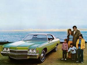 Chevrolet Impala Coupe 1972 года