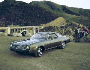 Chevrolet Chevelle Laguna Colonnade Coupe 1973 года
