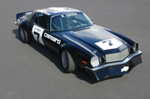 Chevrolet Camaro IROC Race Car 1974 года