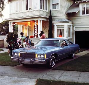 1974 Chevrolet Caprice Classic Custom Coupe