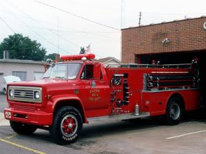 1975 Chevrolet C65 Fire Pumper