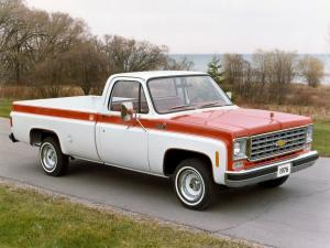 Chevrolet C10 Custom Deluxe Olympic Edition 1976 года