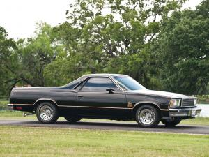 1978 Chevrolet El Camino Black Knight
