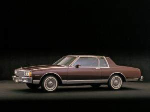 Chevrolet Caprice Coupe 1980 года