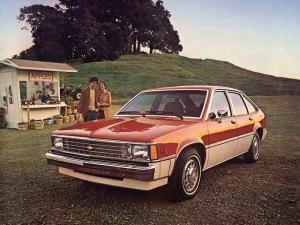 1981 Chevrolet Citation 4-Door Hatchback Sedan