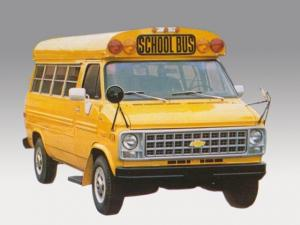 Chevrolet G-20 School Bus Fortivan by Coach and Equipment 1981 года