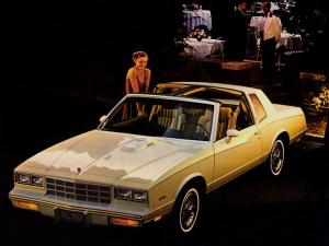 1981 Chevrolet Monte Carlo Sport Coupe T-Top