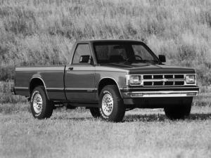 1982 Chevrolet S-10 Tahoe Single Cab Longbox