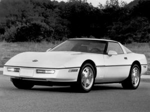 Chevrolet Corvette Coupe 1983 года