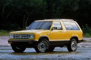 1983 Chevrolet S-10 Blazer 3-Door