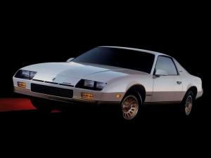 Chevrolet Camaro Berlinetta 1985 года