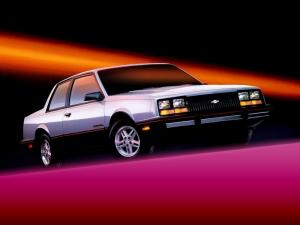 1985 Chevrolet Celebrity Eurosport Coupe