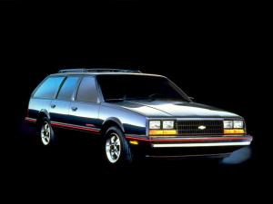1985 Chevrolet Celebrity Eurosport Station Wagon