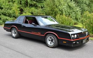Chevrolet Monte Carlo SS 1985 года