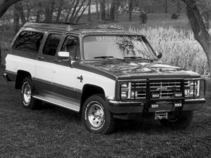 1988 Chevrolet Suburban Outdoorsman