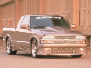 Chevrolet S-10 Extended Cab by Xenon 1998 года