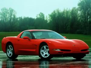 Chevrolet Corvette Fixed Roof Coupe 1999 года