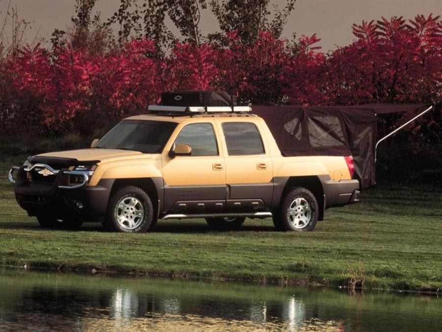 Chevrolet Avalanche Base Camp Concept
