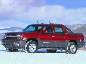 Chevrolet Avalanche Concept 2000 года