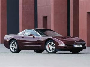 2002 Chevrolet Corvette Coupe 50th Anniversary