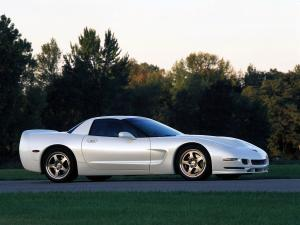 Chevrolet Corvette Z06 White Shark Concept 2002 года