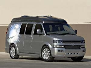 2002 Chevrolet Express Ultimate Ski Van Concept