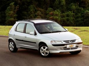 Chevrolet Celta Super 5-Door 2003 года