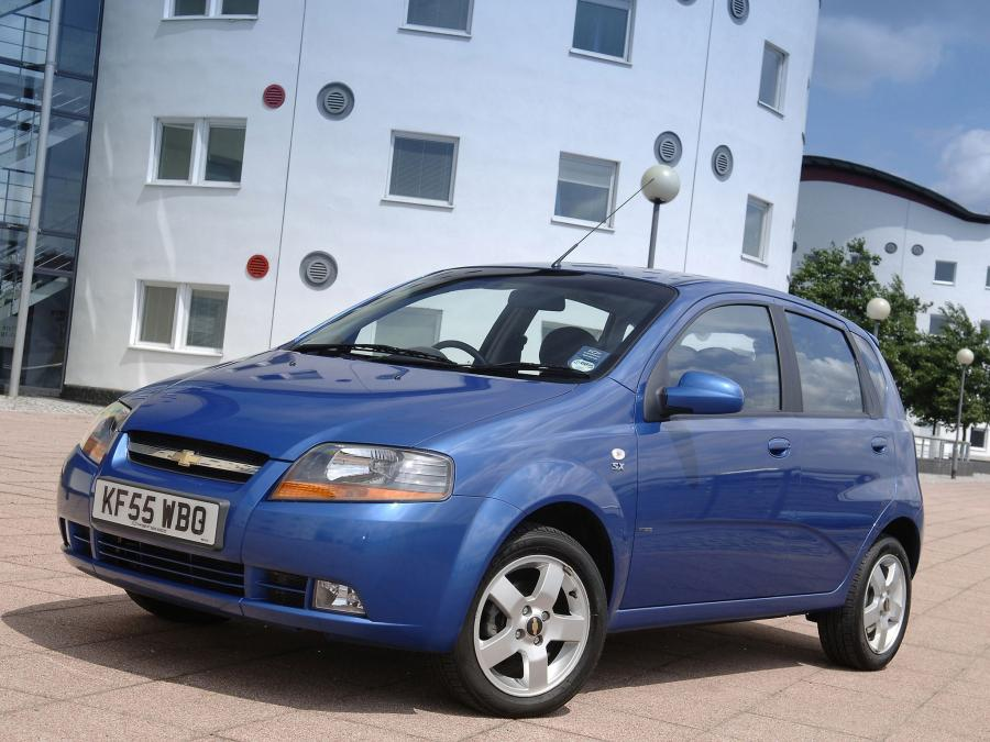 Chevrolet Kalos 5-Door (UK) '2003
