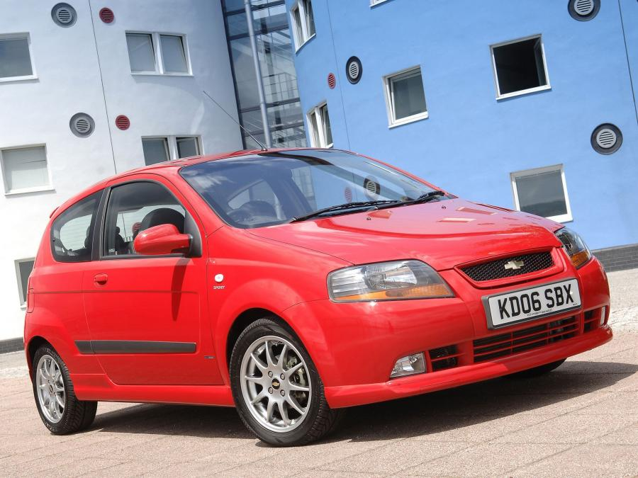 Chevrolet Kalos Sport (UK) '2003