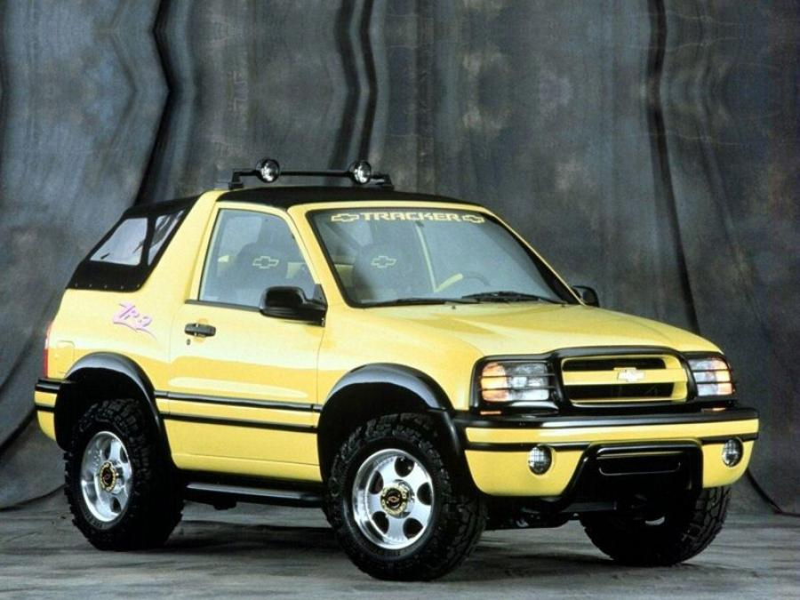 Chevrolet Tracker ZR2 Convertible '2003