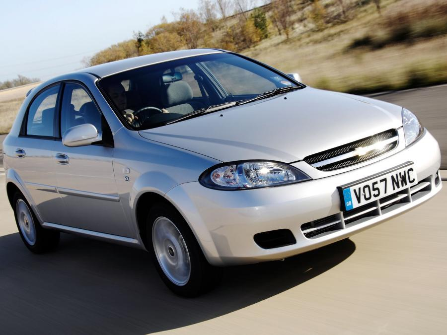 2004 Chevrolet Lacetti Hatchback (UK)