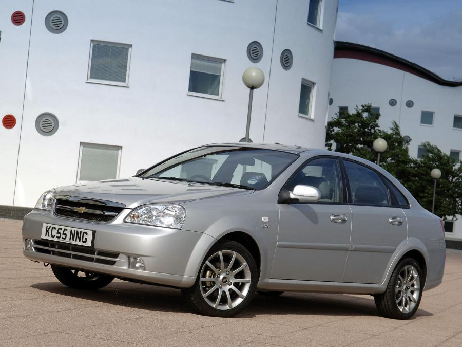2004 Chevrolet Lacetti Sedan CDX (UK)
