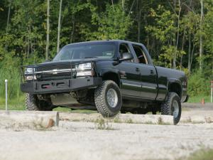 Chevrolet Silverado 2500 HD Crew Cab Enhanced Mobility Package 2004 года
