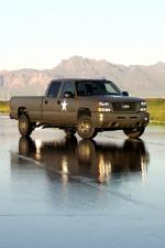 Chevrolet Silverado Hydrogen Military Vehicle 2005 года