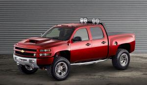2006 Chevrolet Silverado Dale Earnhardt Jr Big Red Truck