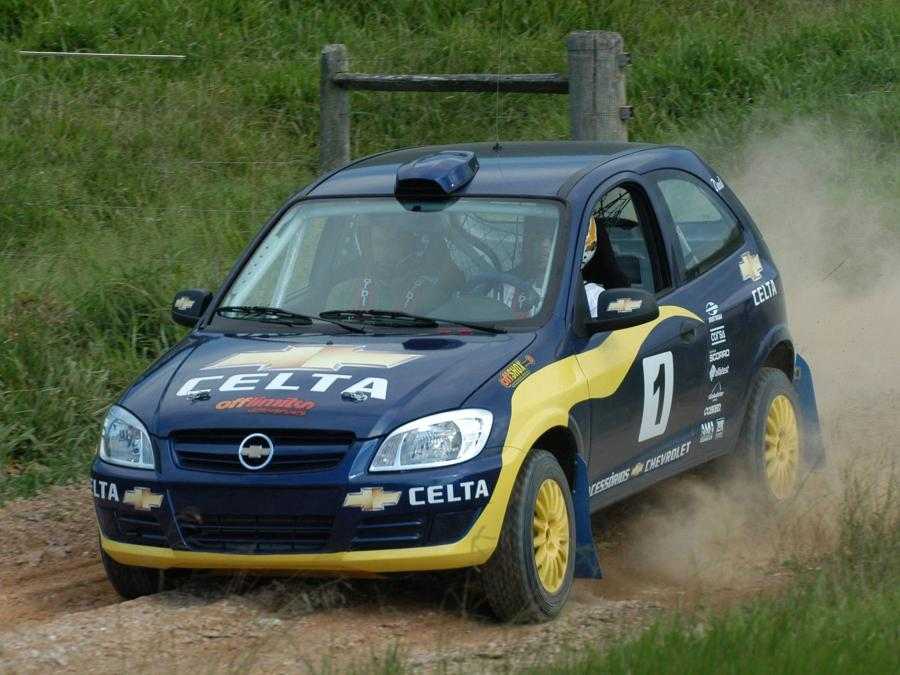 2007 Chevrolet Celta Rally Car