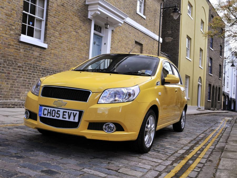 2008 Chevrolet Aveo 5-Door (UK)