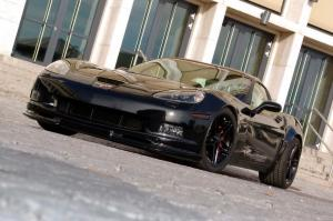 Chevrolet Corvette Z06 Black Edition by GeigerCars 2008 года
