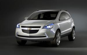 Chevrolet GPiX Crossover Coupe Concept 2008 года
