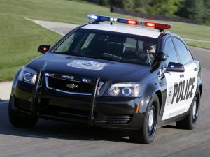 2010 Chevrolet Caprice Police Patrol Vehicle