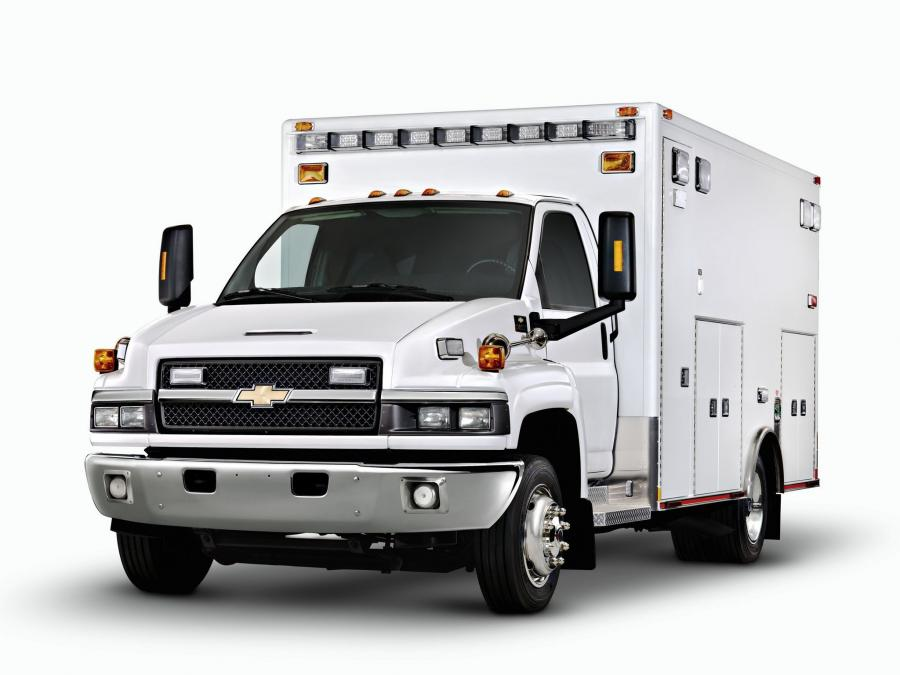 2010 Chevrolet Express C4500 Ambulance