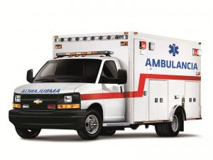 Chevrolet Express Cutaway Ambulancia 2010 года