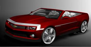 2011 Chevrolet Camaro Red Zone Convertible Concept
