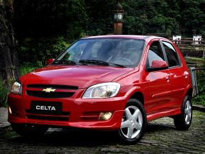 Chevrolet Celta 5-Door 2011 года