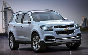 Chevrolet TrailBlazer Concept 2011 года