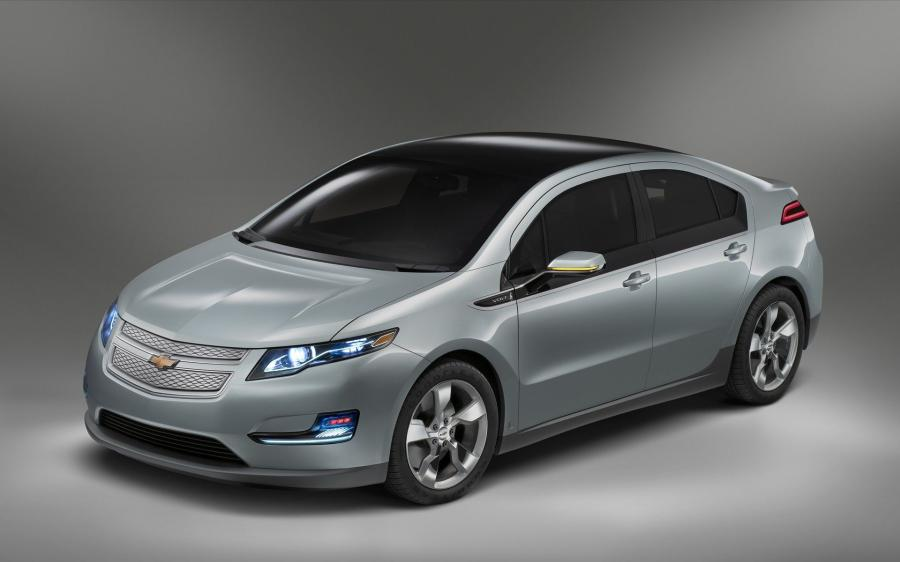 Chevrolet Volt Production Show Car