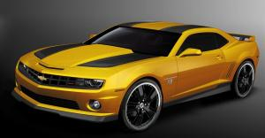 Chevrolet Camaro Transformers Special Edition 2012 года