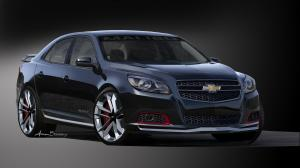 Chevrolet Malibu Turbo Performance Concept 2012 года