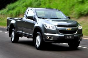Chevrolet S10 4x2 Single Cab 2012 года
